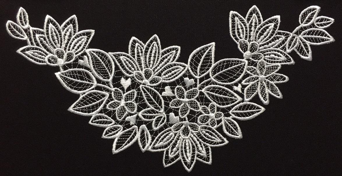 花柄モチーフ・レース刺繍を作りました♪_c0316026_14493728.jpg