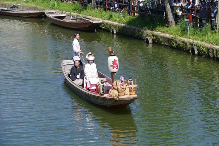 茨城県潮来市 「潮来アヤメまつり」嫁入り船_d0106628_04243346.jpg