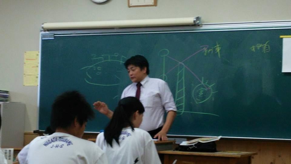 燕中学校 で 職業講話 _b0237229_16200417.jpg