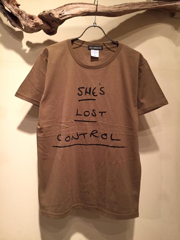 SHE\'S LOST CONTROL Tee (New color)_f0126931_19374955.jpg