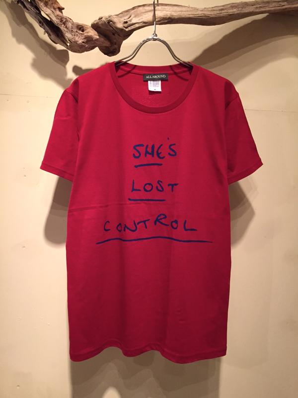 SHE\'S LOST CONTROL Tee (New color)_f0126931_19375015.jpg
