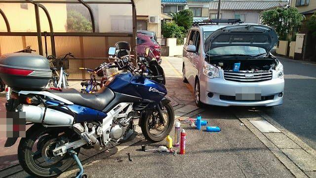 平成27年6月24日バイクと車とフルバンク駐車 オイル交換への道_c0155364_533987.jpg