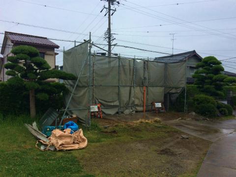 浜北小松 Yさんの家 ★解体工事 _d0205883_1564998.jpg