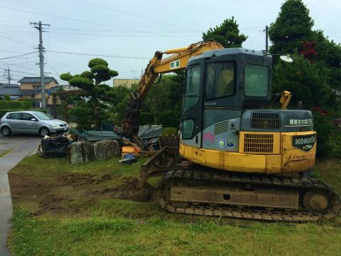 浜北小松 Yさんの家 ★解体工事 _d0205883_1565425.jpg