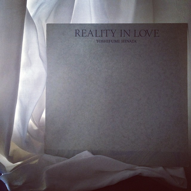 今日のレコード/いつか訪れた心の風景 ひとつぶの海 REALITY IN LOVE_f0170995_10272871.jpg
