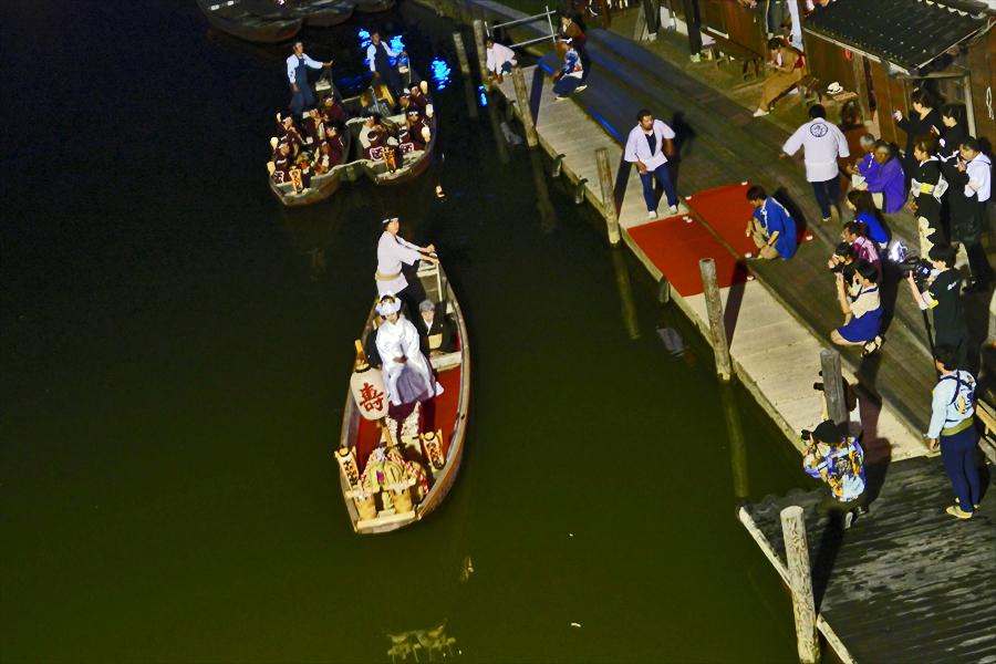 茨城県潮来市 「潮来アヤメまつり」宵の嫁入り船_d0106628_11361730.jpg