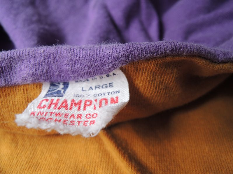 60S&80S CHAMPION REVERSIBLE T-SHIRTS --RECOMMEND--_c0176867_1344146.jpg