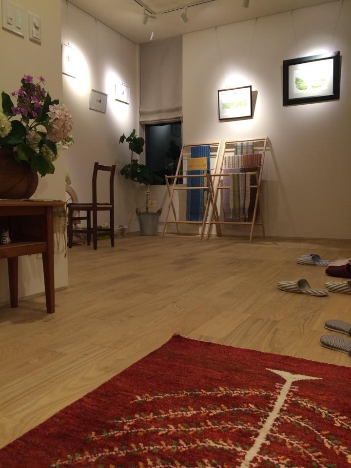福山市光南町『染め織り工房 ギャラリーβ』さま 癒しのギャラリーです!_f0196294_16345380.jpg