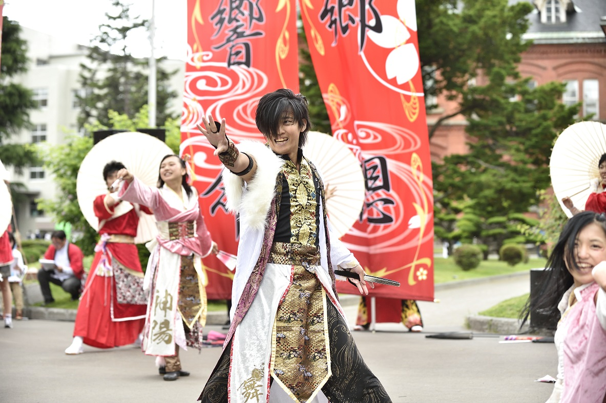 YOSAKOIソーラン よさこい炎舞連『神陽~Sin~』_f0184198_12593999.jpg