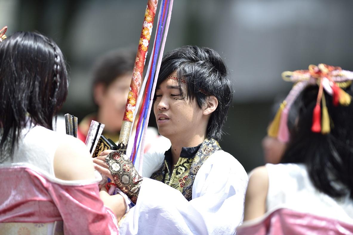 YOSAKOIソーラン よさこい炎舞連『神陽~Sin~』_f0184198_1311786.jpg