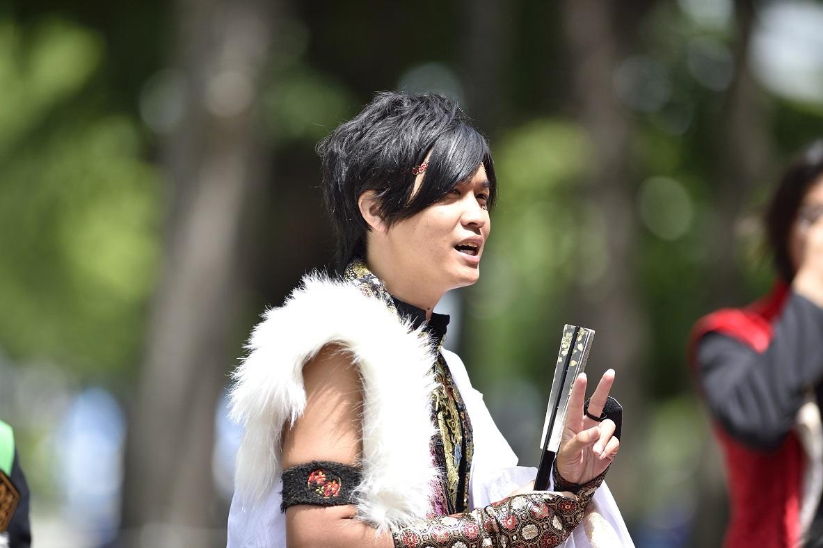 YOSAKOIソーラン よさこい炎舞連『神陽~Sin~』_f0184198_132421.jpg
