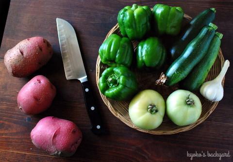 初収穫のブラックベリー。Farmer\'s Marketの戦利品。_b0253205_01243188.jpg