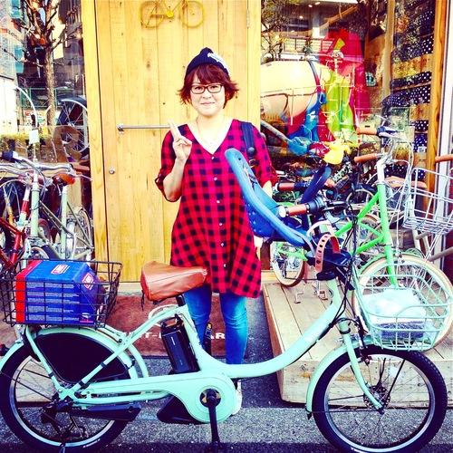 リピトの『バイシクルファミリー』bikke2e Yepp ビッケ2eトート ハイディ ステップクルーズ おしゃれ自転車_b0212032_20505142.jpg