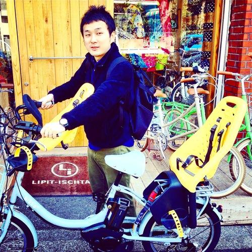 リピトの『バイシクルファミリー』bikke2e Yepp ビッケ2eトート ハイディ ステップクルーズ おしゃれ自転車_b0212032_2051121.jpg
