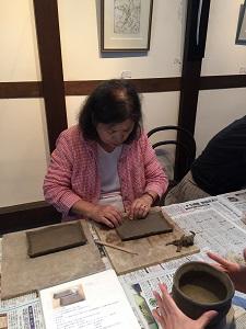 第32回むくのき倶楽部陶芸教室_f0233340_0495645.jpg
