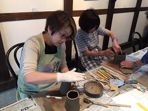 第32回むくのき倶楽部陶芸教室_f0233340_0523215.jpg