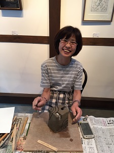 第32回むくのき倶楽部陶芸教室_f0233340_0535857.jpg