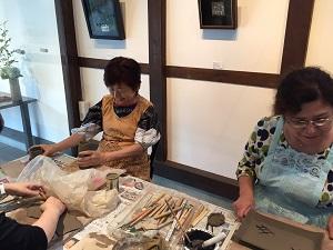 第32回むくのき倶楽部陶芸教室_f0233340_0551458.jpg