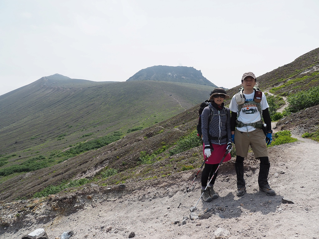 樽前山と風不死岳、6月26日_f0138096_1359144.jpg
