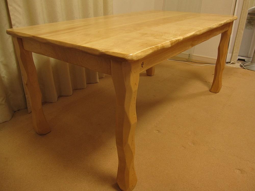 低めのテーブルW1300×D750×H600と下枠付き天板W900×D450×H44_e0072513_12562652.jpg