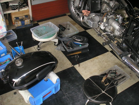 Ural ウラル 2輪駆動(2WD) 修理点検_e0218639_2152566.jpg