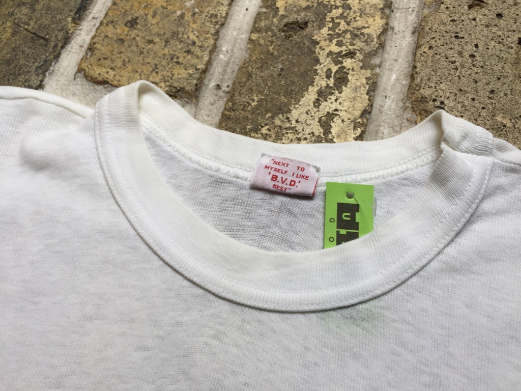 神戸店7/1(水)SouthWestヴィンテージ入荷!#5 Vintage White UnderWear!!!    (T.W.神戸店)_c0078587_22454672.jpg