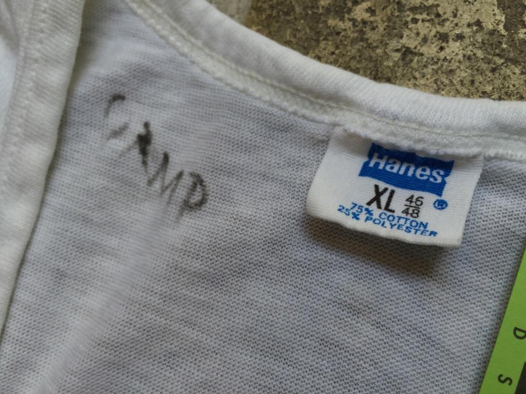 神戸店7/1(水)SouthWestヴィンテージ入荷!#5 Vintage White UnderWear!!!    (T.W.神戸店)_c0078587_22541236.jpg