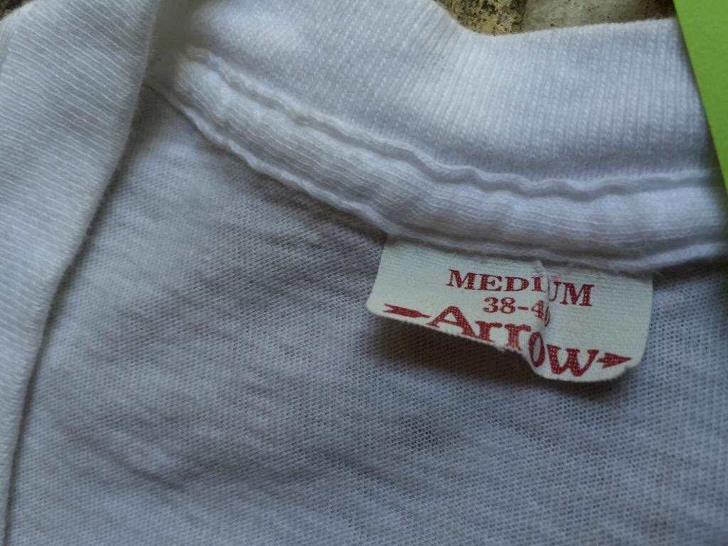 神戸店7/1(水)SouthWestヴィンテージ入荷!#5 Vintage White UnderWear!!!    (T.W.神戸店)_c0078587_22552580.jpg
