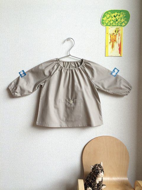 小さくてもきちんとした服 スモック12ヶ月_e0271890_13462207.jpg