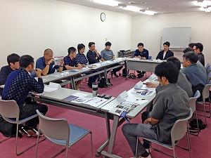 久留米絣青年部会様 産地研修_e0194629_1640112.jpg