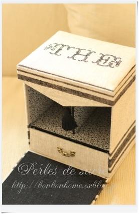 自宅レッスン 紅茶入れの箱 マルチトレイ ペーパーズホルダー シャルニエの箱 シャポースタイルの箱_f0199750_17412439.jpg