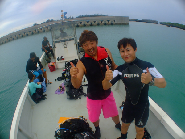 沖縄DIVE!ジンベイ&ピカチュウドリームホール_a0226058_16451975.jpg
