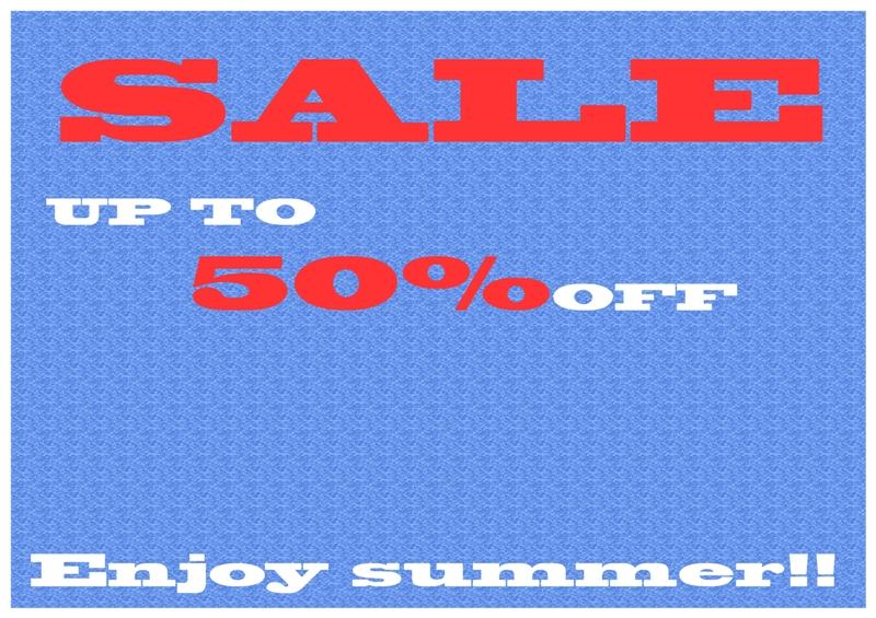 2015 SUMMER SALE_d0103566_1951373.jpg
