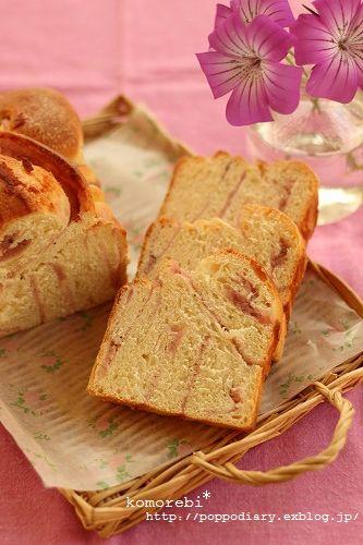 折込パンと梅シロップのジュース_a0134594_9234528.jpg