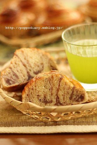 折込パンと梅シロップのジュース_a0134594_9271922.jpg