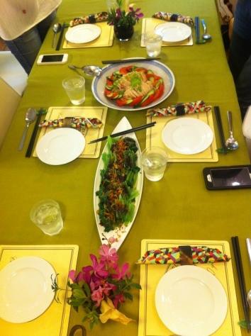 料理教室・・・もう何回目?? の、海南チキンライス!!_f0141419_09330443.jpg