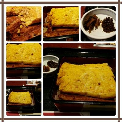 そとでお食事with黄金うな重~♪_d0219834_21295535.jpg