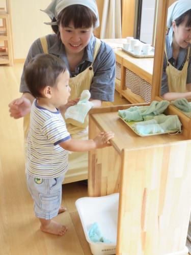 乳児クラス保育参加_f0327175_14325829.jpg