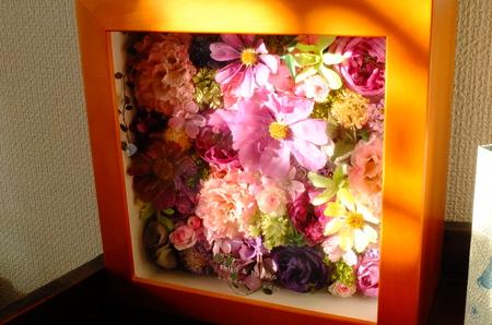 結婚式後のブーケの保存  アフターブーケと自分でドライフラワーに_a0042928_10333465.jpg