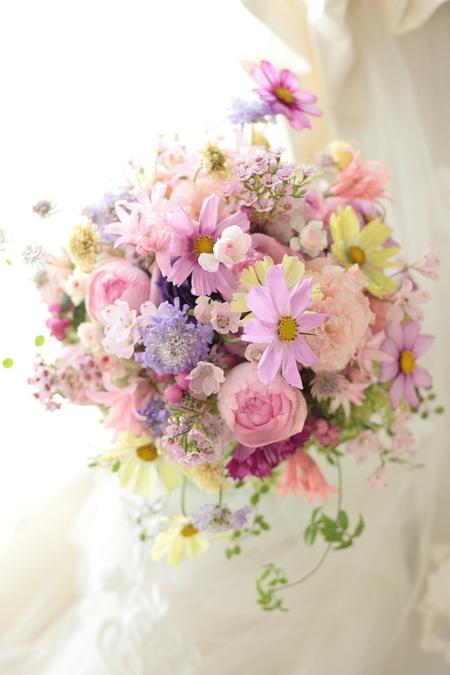 結婚式後のブーケの保存  アフターブーケと自分でドライフラワーに_a0042928_10464770.jpg