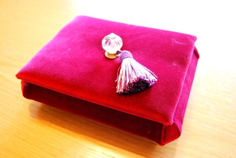 カルトナージュ同好会 宝石箱を作る。_b0165872_21591297.jpg