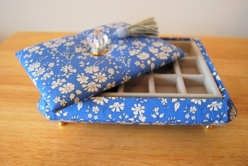 カルトナージュ同好会 宝石箱を作る。_b0165872_2211861.jpg