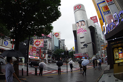 7月2日(木)今日の渋谷109前交差点_b0056983_10510670.jpg