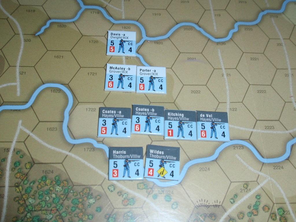 GMT「GloryⅢ」より「シーダークリークの戦い」をソロプレイ④_b0162202_18225231.jpg