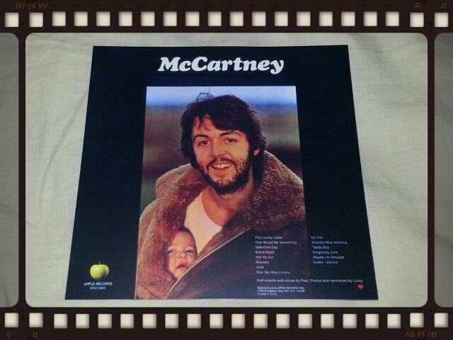 PAUL McCARTNEY / McCARTNEY US ORIGINAL LP_b0042308_18431694.jpg
