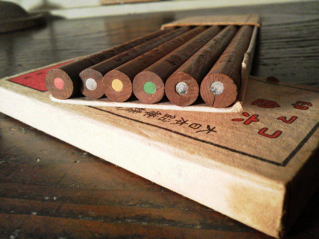 コマ印六色色鉛筆_e0350308_2101154.jpg