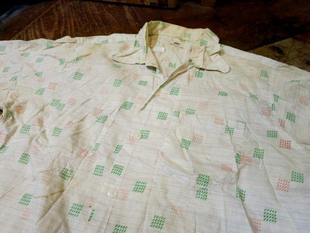 7/4(土)入荷!50'S コットンシャツ!_c0144020_15411852.jpg