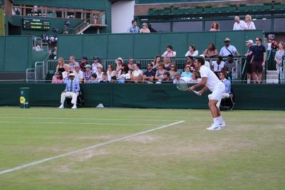 ウィンブルドンでテニス観戦@追記_b0199526_1829237.jpg