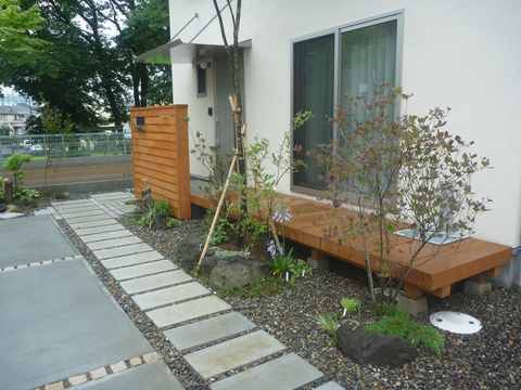 植栽工事_f0066533_1525675.jpg