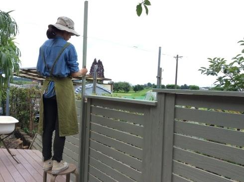 7月3日・・・・雨の合間に、今日もまた、ペンキ_b0137969_20335995.jpg